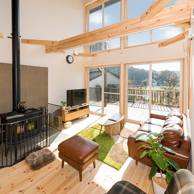 家づくり事例 日々を豊かに彩る個性派住宅ブランド温もりに包まれ、暮らしを楽しむ