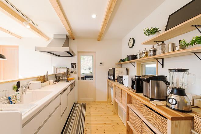 家づくり事例 キッチン