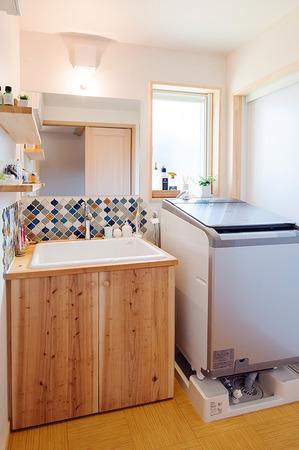 家づくり事例 洗面スペース